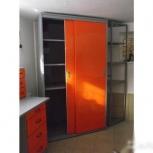 Шкаф-купе металлический для гаража, Омск