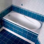 Установка сантехники ванн,унитаза,умывальников раковины, Омск