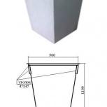 Контейнер для ТКО 0,75 куб.м., Омск