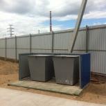 Контейнерная площадка для мусора (ТБО), Омск