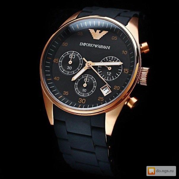 элитная часы emporio armani мужские нового
