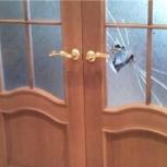 Замена стекла в двери, Омск