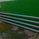 регистр отопления из стальных гладких труб, Омск