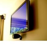 Установка телевизора на стену, ЖК, LED 32-47, Омск