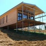 Строительство каркасных домов из sip панелей, Омск