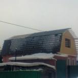 Установка новой крыши, второго этажа на дом, Омск