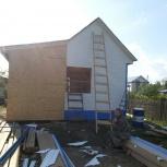 Фасадные работы на частных домах и дачных домиках, Омск
