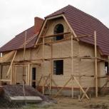 Строительство коттеджей, бань, домов., Омск