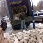 Вывозим строительный мусор газелью, Омск